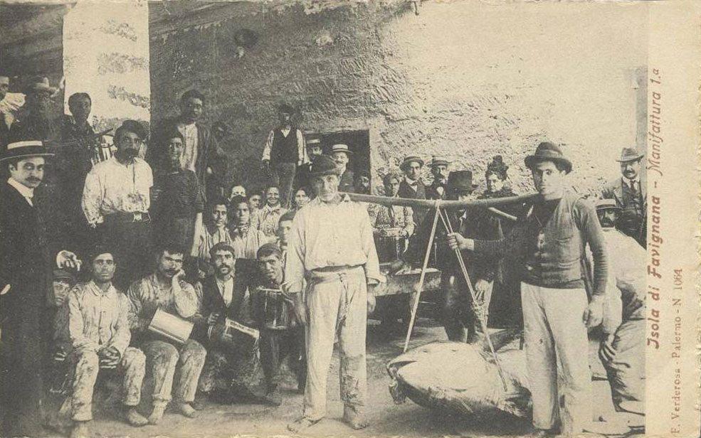 Operai dello stabilimento Florio, lavoratori del tonno