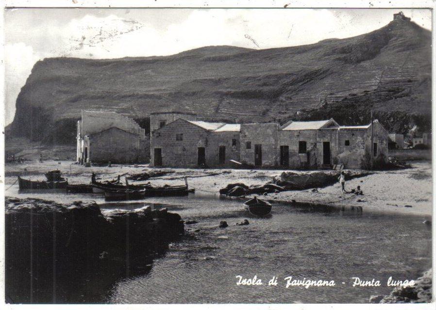 Isola di Favignana Punta lunga porticciolo pescatori