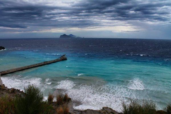 isole eolie maltempo burrasca