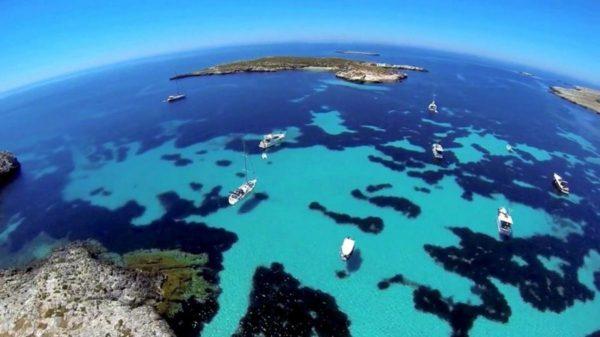 Altre che Caraibi, Favignana Isola Tra le Più Belle d'Italia - Diretta Sicilia - Favignana